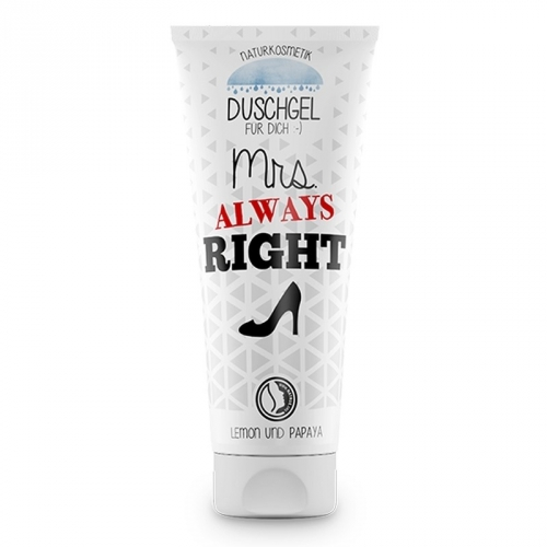 Duschgel 200ml Mrs. Always Right